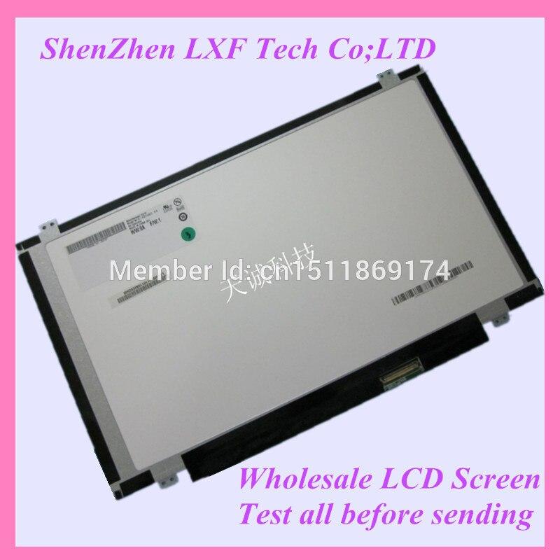 14.0 mince écran LED HB140WX1-300 ajustement HB140WX1-400 500 600 B140XTN02.3 B140XW03 LP140WH2-TLA2 40 BROCHES