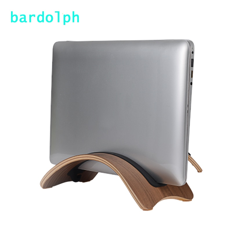 Soporte de madera Natural torcida de alta calidad para portátil soporte de madera para ordenador portátil MacBook Air/Pro iPad
