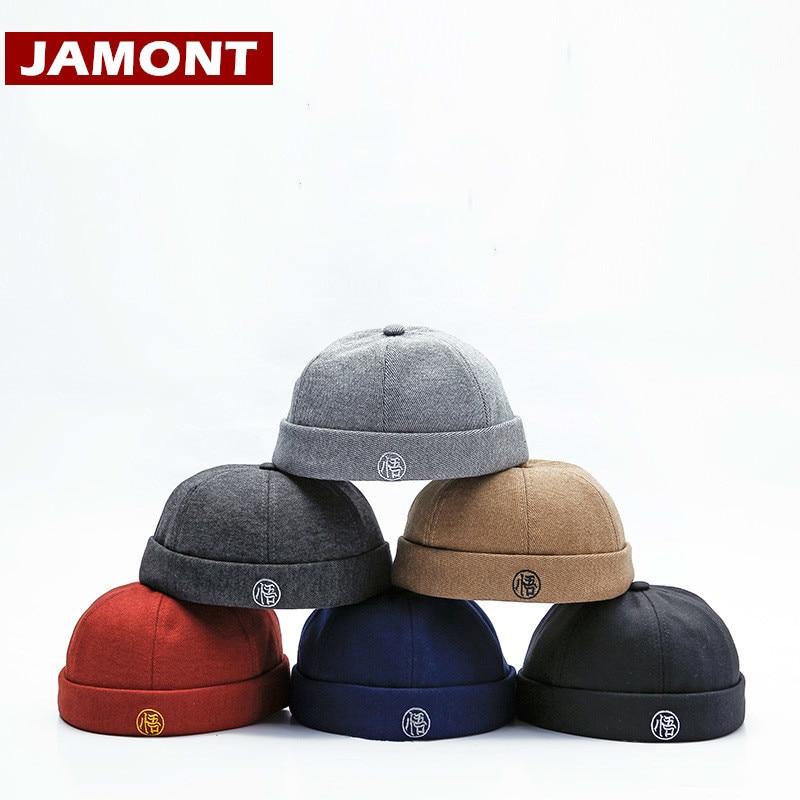 [JAMONT] 2018 jesienne czapki zimowe Skullcap mężczyźni kobiety czapka beanie czapka w stylu hip-hop przenośny kapelusz Casquette Mix and Match Style