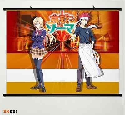 Shokugeki no Soma Yukihira Souma decoración del hogar póster de Japón rollo de pared Anime 031