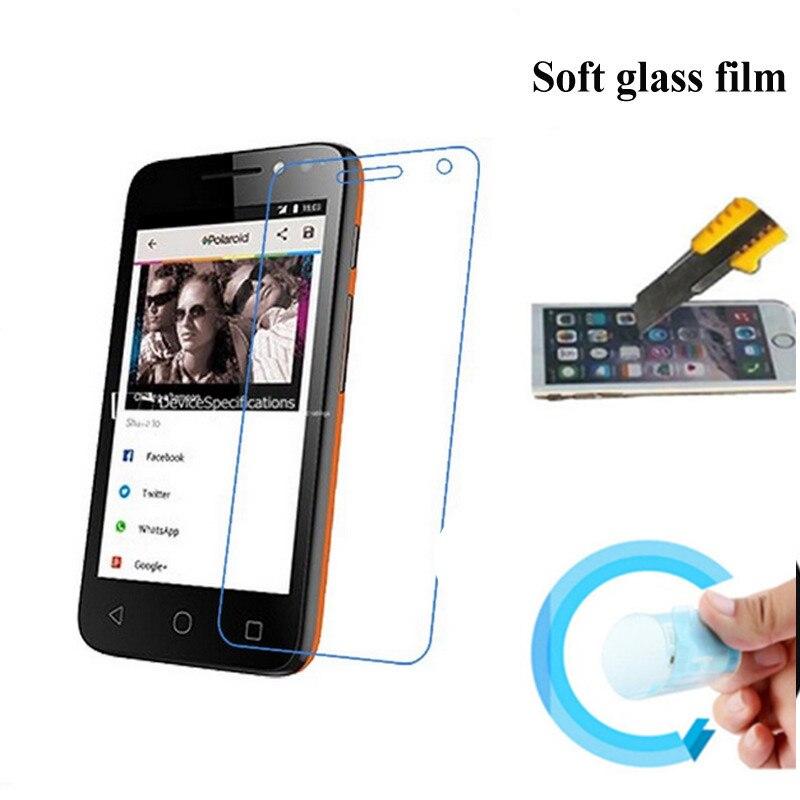 Protector de pantalla para Alcatel One Touch Pixi 4 OT 4034 Nano película protectora a prueba de explosiones