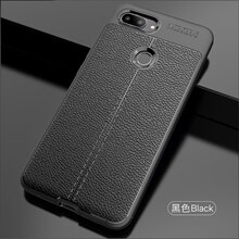 Wolfsay Soft TPU Case For Xiaomi Mi 8 Lite Case Leather Texture Silicon Phone Cover For Xiaomi Mi 8
