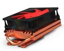 100mm fan 2 heatpipe Grafiken kühler, grafikkarte kühler VGA fan GPU kühler, PcCooler K101D