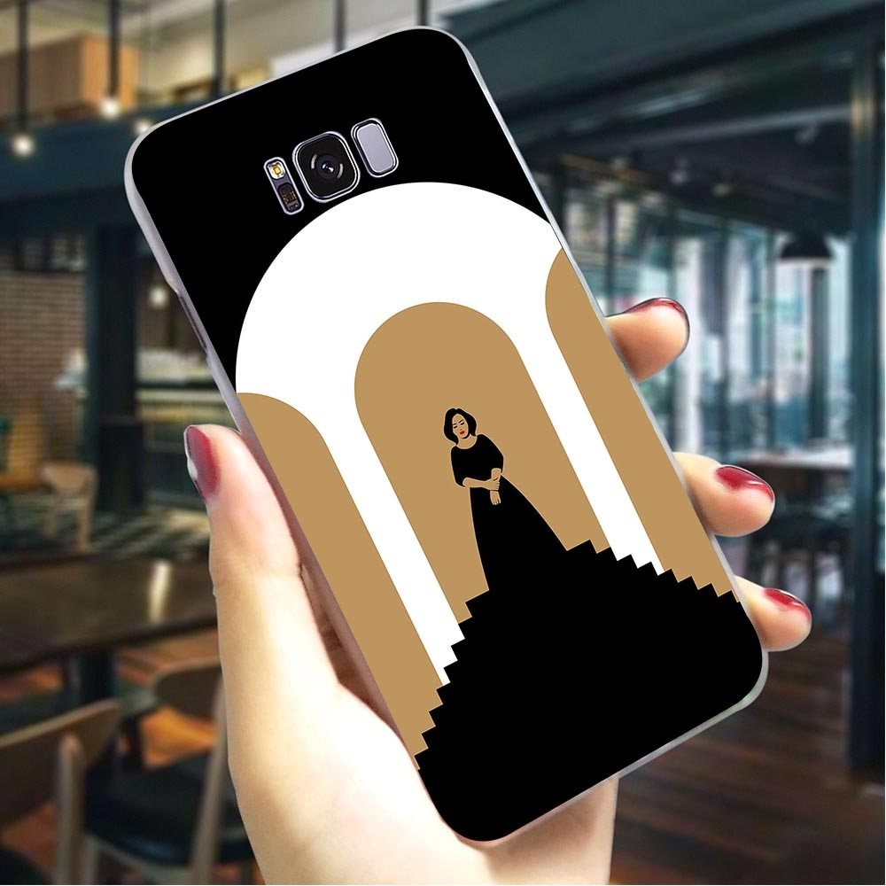 Adele Adkins duro de la cubierta para Samsung Galaxy S9 Plus caja colorida del teléfono para Samsung Galaxy S9 Plus S10 Nota 8 nota 9 a de los casos