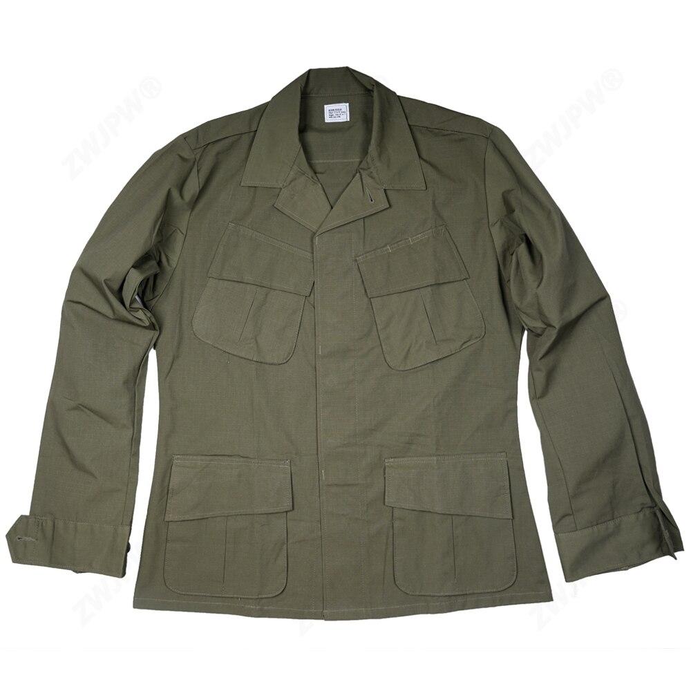 """מלחמת העולם 2 מלחמת וייטנאם ארה""""ב TCU מעיל צנחנים אחיד שלושה דורות של מלחמת שחזורי מעיל"""