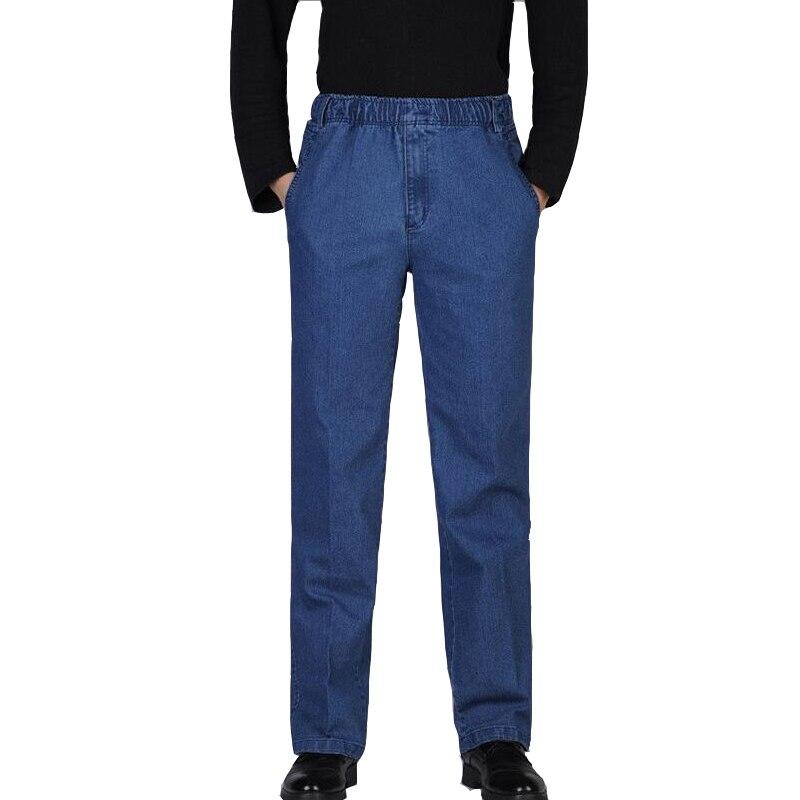 Vaqueros rectos XXXXXL para hombres, Vaqueros informales Robin para hombres, vaqueros de talla grande de verano, estilo de marca famosa, Jeans para hombres, importados de China A0614