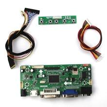 M. NT68676 carte de pilote LCD/LED de contrôle pour N121IB-L06 (HDMI + VGA + DVI + Audio) moniteur LVDS réutilisation ordinateur portable 1280*800
