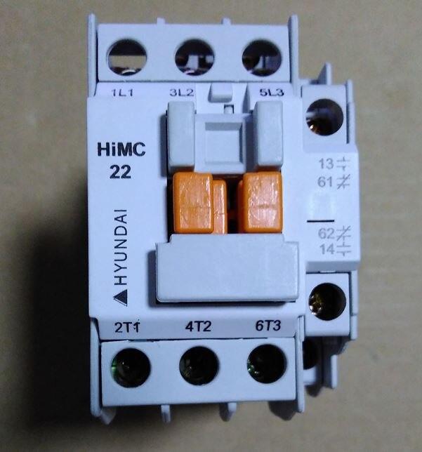 HiMC22 / HiMC22W HiMC22W11 напряжение катушки 380V ~ 440V 50/60Hz магнитный контактор HYUNDAI