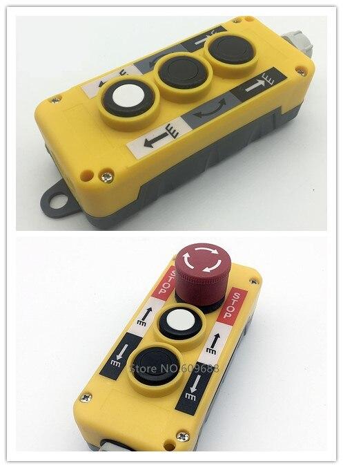 COP Automobil schwanz platte hebe Push Button Schalter Anhänger Controller T5813 T4813 T3813