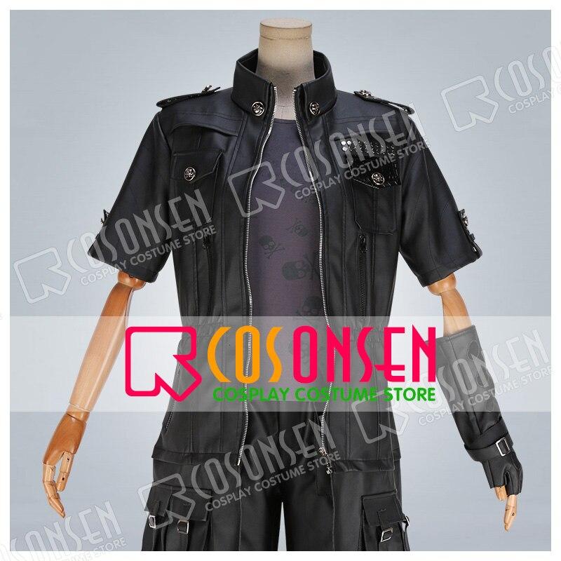 Final Fantasy XV FF15 Noctis Lucis Caelum Lucis FFXV костюм для костюмированной вечеринки костюм унисекс на заказ любой размер COSPLAYONSEN