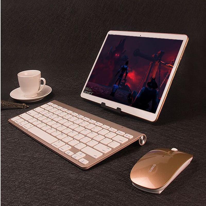 "10 ""tablet pc android 7.0 netbook ips tela 4 gb ram 64 gb ram 3g telefone chamada dupla sim wifi bluetooth comprimidos para crianças android"