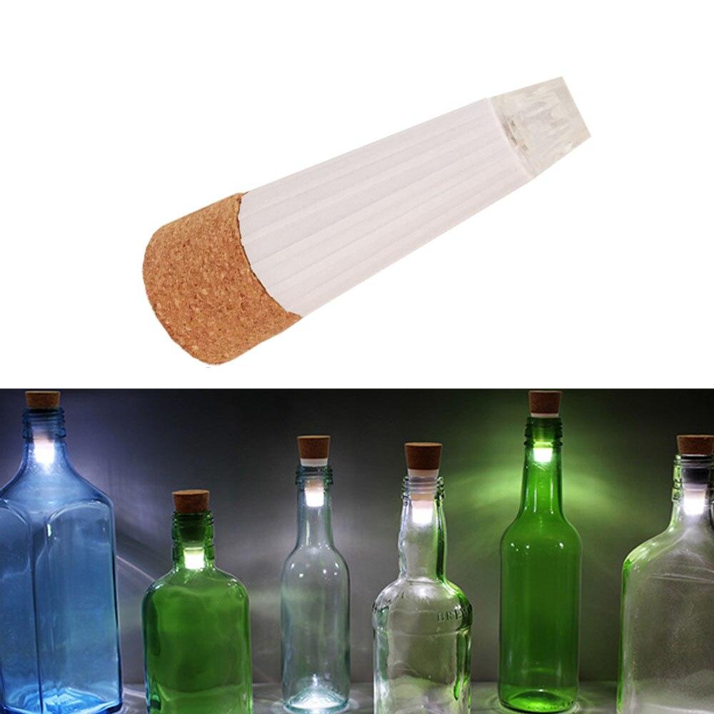 YB Yiba USB recargable en forma de corcho Luz de tapón de botella de vidrio vino colorido LED cadena de luces para Bar fiesta de Navidad boda casa