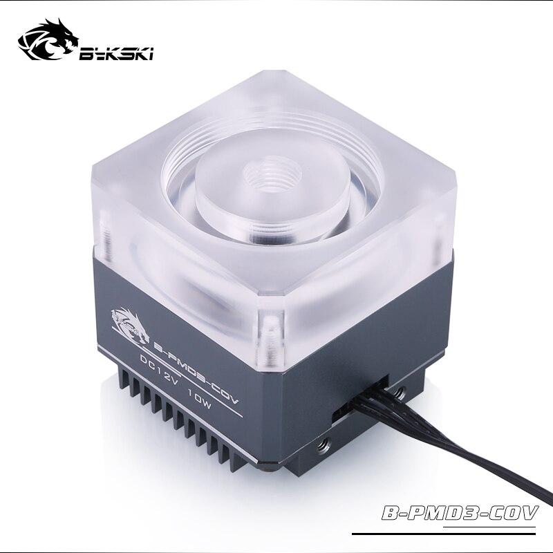 Bykski B-PMD3-COV 5 в RGB водяное охлаждение насос с радиатором 600л DDC серый