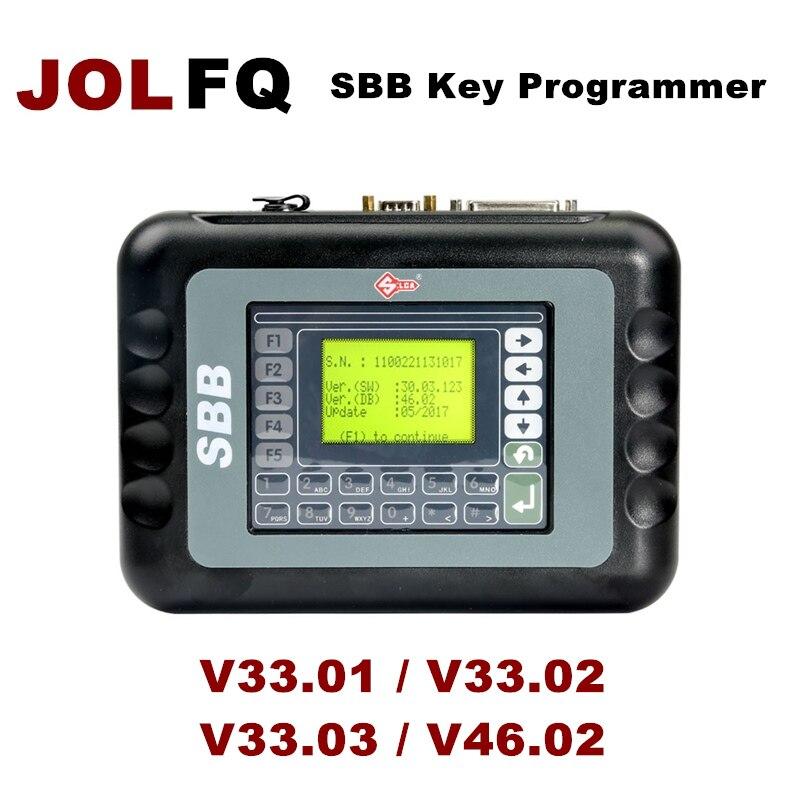V33.03 v33.02 sbb 33.01 46.02 novo imobilizador transponder carro auto silca sbb programador chave multi-línguas útil chave pro ferramenta