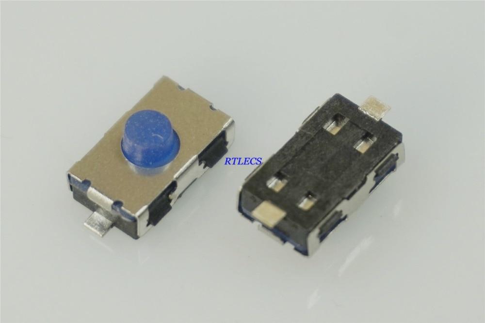5 uds interruptor de tacto subminiatura 6,0x3,8mm de altura 2,6mm normalmente cerrado SPST-NC montaje en superficie pomo suave Cross KSR Gull Wing