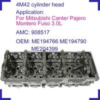 4M42 4M42T bare engine cylinder head 908517 908 517 ME194766 ME194790 ME204399 for Mitsubishi Canter Pajero Montero Fuso 3.0L