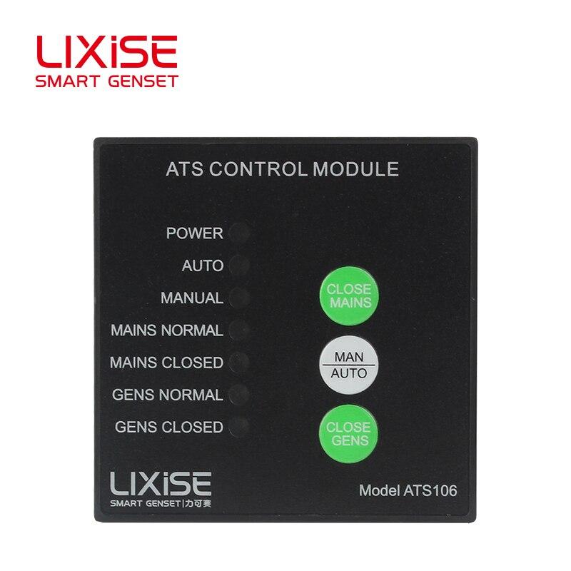 ATS106 LIXiSE ats amf generador automático Módulo de control de conmutación