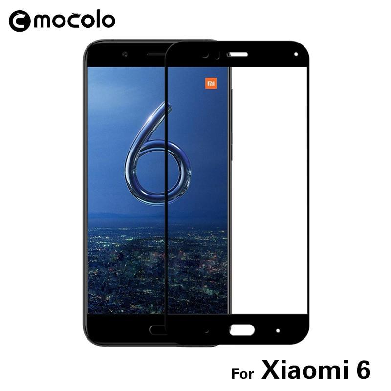 Original Mocolo 4 Pçs/set 9 H 2.5D Protetor de Tela Nano Líquido Completo capa Colorido Filme de Vidro Temperado Para Xiaomi Mi 6 M6 Mi6