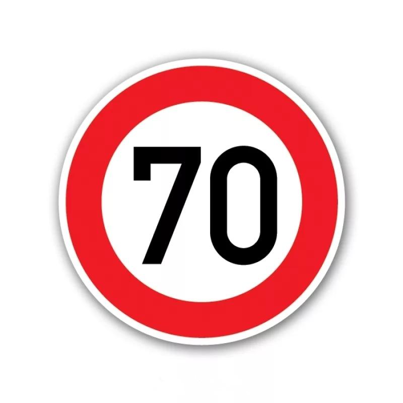 CK2662#16*16cm Speed limit, 70 km per hour funny car sticker PVC decal  car auto stickers for car bumper window car decorations