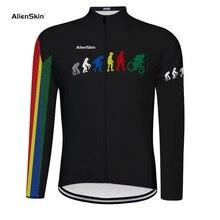 Maillot De cyclisme à manches longues pour hommes, maillot De cyclisme sur vtt, idéal pour léquipe De cyclisme en montagne, modèle 2019, automne 6575