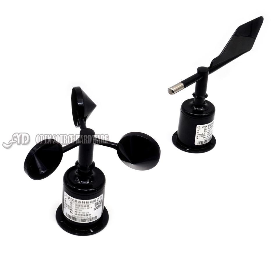 1 пара, три чашки датчика скорости ветра/направления ветра, измеритель направления ветра (RS485 / 232, 4-20 мА/0-5 В)