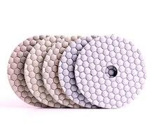 DC-HW5PP02 flexible diamond 5 step dry polishing pads for dry polishing granite and marble