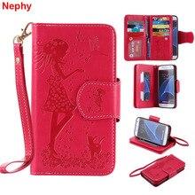 Nephy حقيبة لهاتف سامسونج galax S8 s9 plus S3 S4 S5 Neo S6 S7 Edge نوت 8 A3 A5 J3 J5 J7 Pro Nxt Coer Prime غطاء هاتف محمول فاخر
