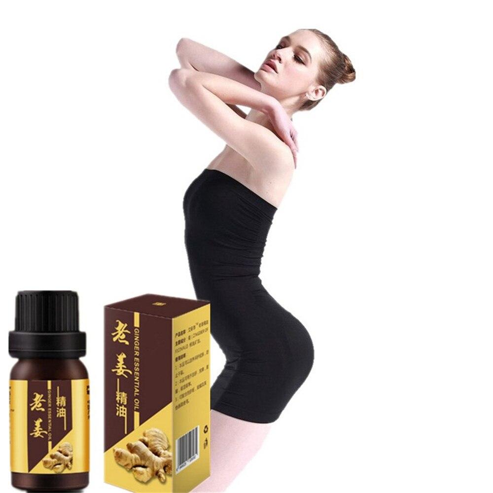 10ml Fast Effect Wild Ginger Massage Essential Oil 10 days Fat burning Essential oil diet gel fat burner lose weight cream