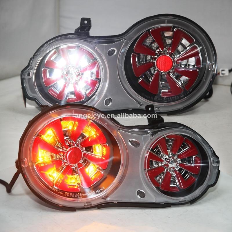 Carcasa cromada para NISSAN GT-R R35 GTR luz trasera LED