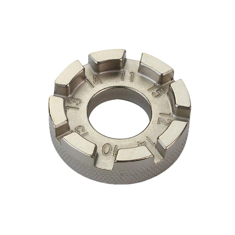 8 groove falou aro da roda chave inglesa para mountain bike ciclismo reparo reparo ferramenta ajustador conjunto kit conveniente