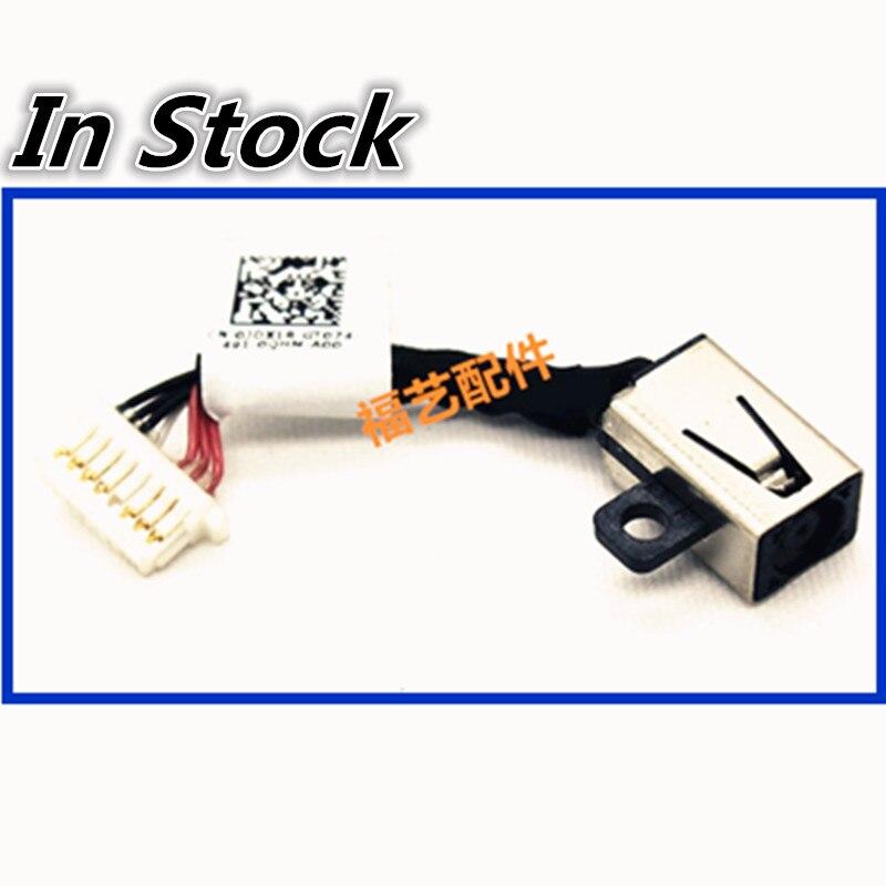 Portátil DC Power Jack cable conector para puerto de carga cable para DELL Inspiron 7558, 7568, 5568, 7569, 7000, 7359, 7347, 7348, 7352 0JDX1R
