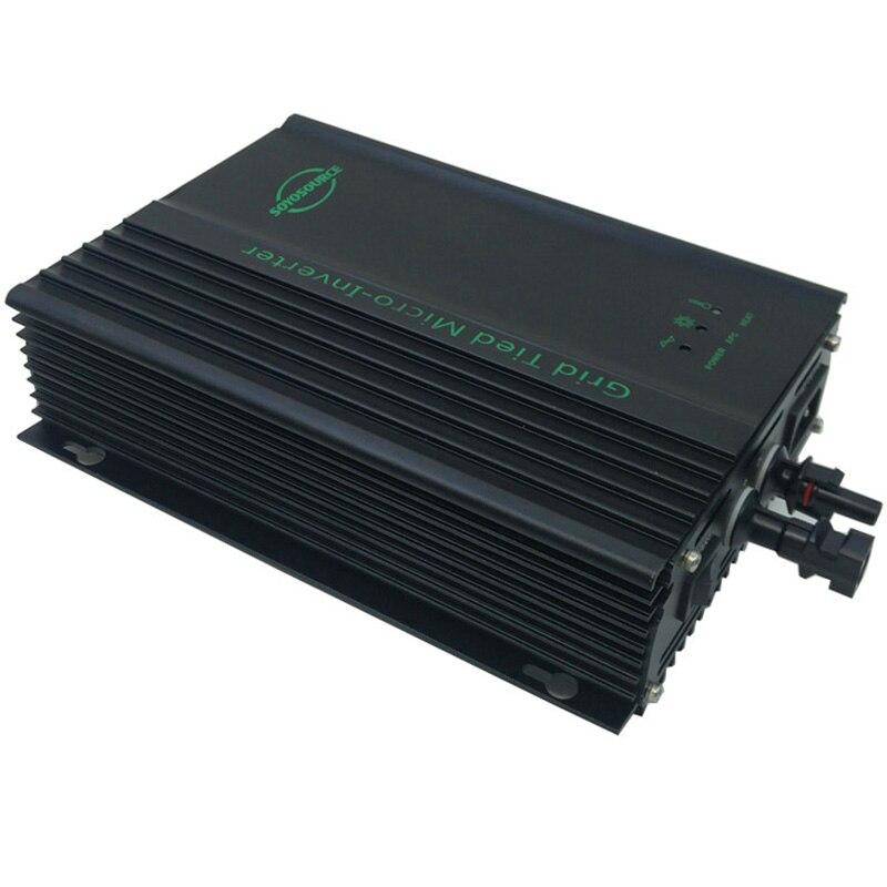 Inversor de conexión a red 600W 48v para entrada PV-Voc 55-90v dc a ac 120V o AC230V 50HZ o 60Hz inversor fotovoltaico para batería 48V