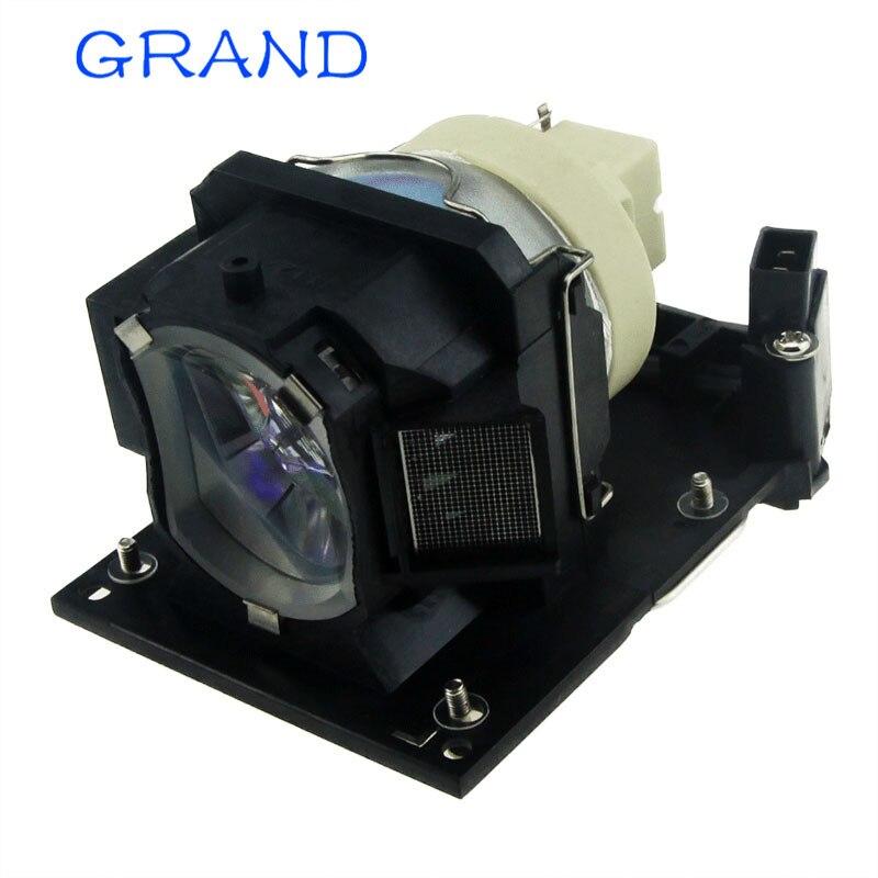 DT01181 TV Lampe Nue De Projecteur pour Hitachi BZ-1 CP-A220N CP-A221NM CP-A222NM CP-A222WN CP-A250NL CP-A301N CP-A301 HEUREUX BATE