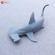 Wiben Sea Life requin marteau sphyrne Zygaena créatures aquatiques animaux sauvages ensemble de jouets Zoo modélisation plastique solide poisson modèle