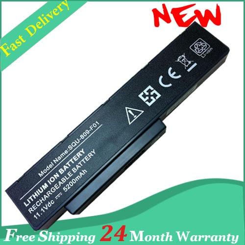 Аккумулятор для ноутбука Fujitsu Li3910 Li3560 Pi3560 Pi3660 Amilo Li3710 SQU-809-F01 SQU-809-F02 3UR18650-2-T0182