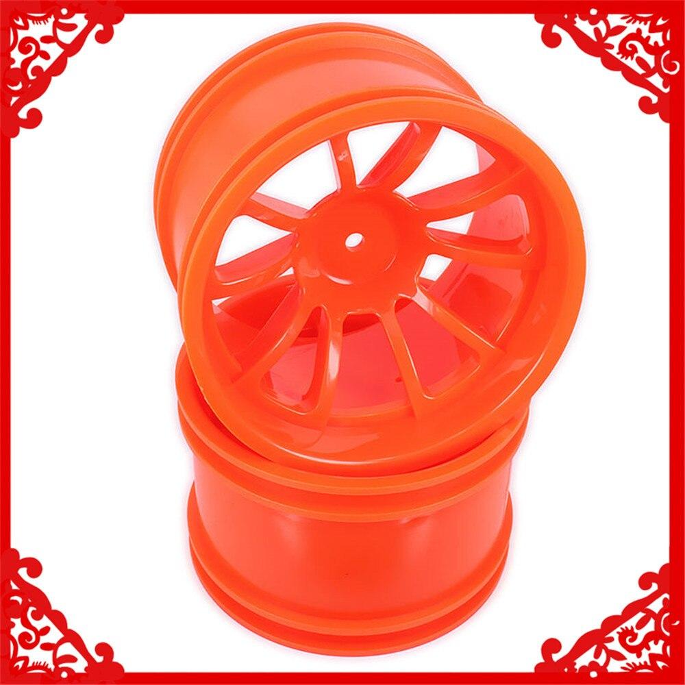 Llanta de rueda de plástico con neumático para coche de radiocontrol Himoto 1/10 Big Foot Monster Truck Truggy Car HSP HPI Traxxas Redcat 08008 08044