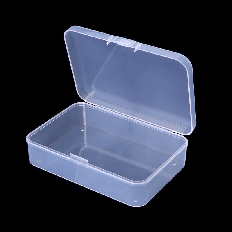 Fishing Hook Box Transparent Tackle Storage Jig Case Visible Lure Baits Plastic