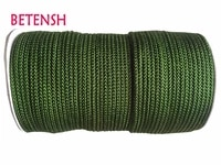 150mroll olive green braid nylon cord3mm diy jewelry accessories macrame rope bracelet earring wire beading cords