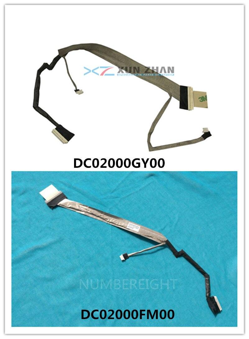 Novo LEVOU a Cabo LCD Para HP Compaq Presario C700 G7000 G7010 DC02000FM00 454919-001/DC02000GY00 462447-001 screen Display Flex