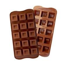Nova marca em forma de diamante ferramentas bolo molde de chocolate molde doces silicone bakeware cupcake bolo topper d530