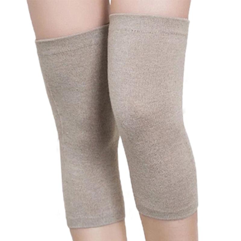 Un par de tres tipos de uso Fitness rodilla Cachemira lana compresión mangas rodillera apoyo para Atlético caliente mejor rodillera