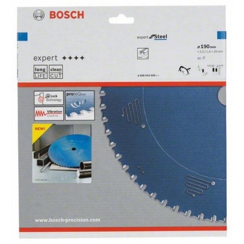 BOSCH 2608643056 Disc circular saw CSB Expert metal 190x20x40 D-HLTCG