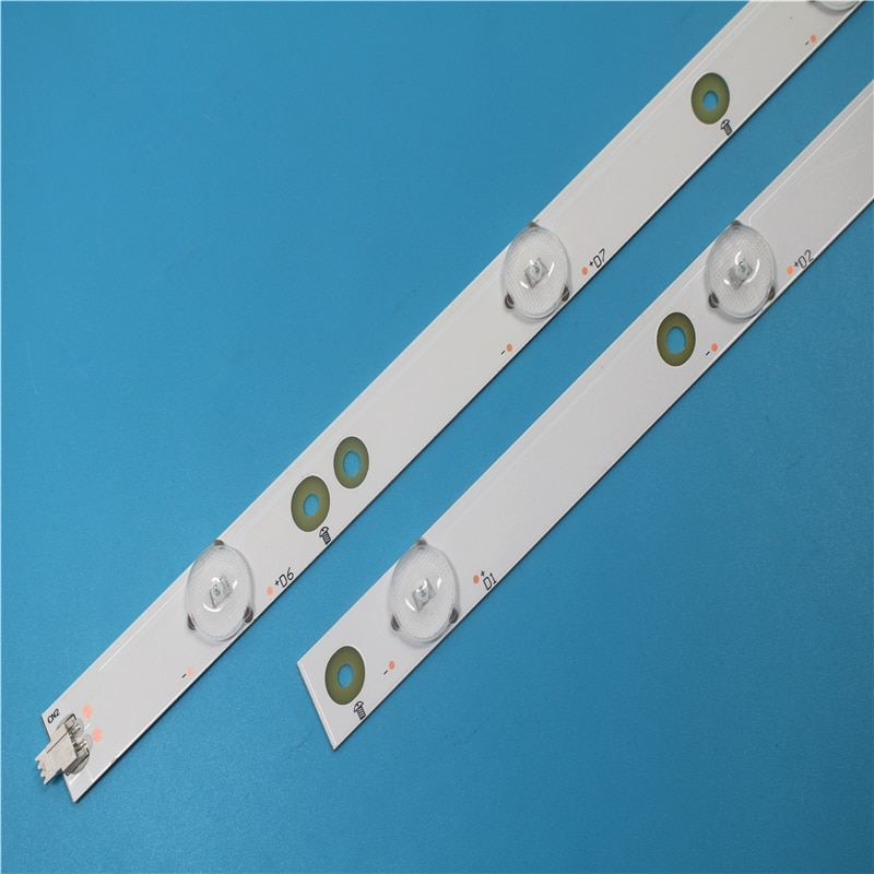 Original 1005mm Led-hintergrundbeleuchtung streifen Für Philips 50 ZOLL LB-PF3030-GJFHD500611-L/R-H tv teile 2 stücke