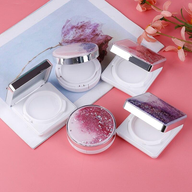 5Styles DIY Empty BB Cream Container Air Cushion Puff Box Liquid Foundation BB Cream Holder Beauty Make Up Case