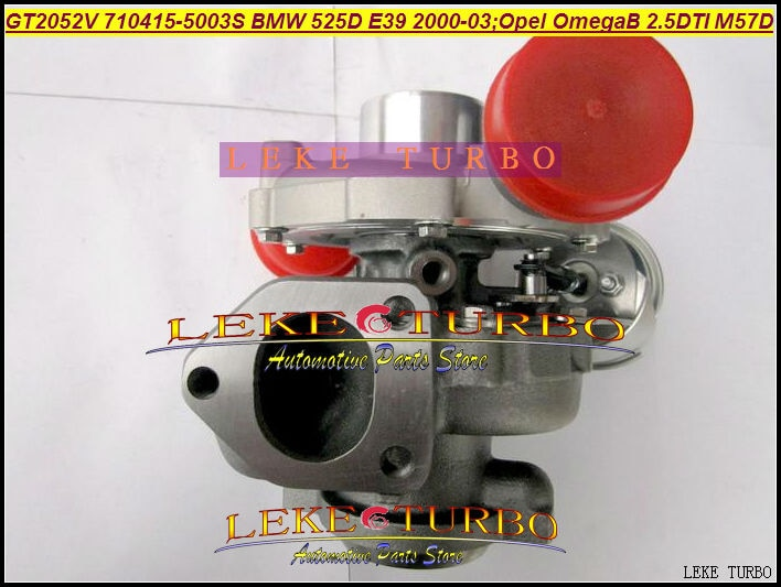 Turbo GT2052V 710415-5003S 710415 710415-0001 turbocompresor para BMW 525D E39 00-03 para Opel Omega B 2.5L DTI M57D 163HP