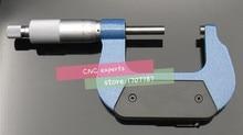 Micromètre extérieur 0-25mm/25-50mm/50-75mm/75-100mm/100-125mm/125-150mm/150-175mm/175mm/200- outils de mesure de pied à coulisse de calibre mm