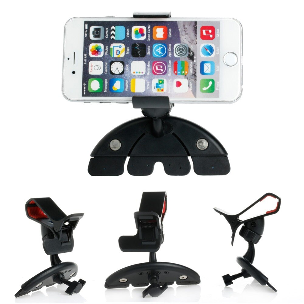 Slot de CD Carro Universal portátil Clipe Suporte de Montagem suporte Para Celular Mobile Phone GPS # 50JA #