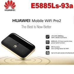Huawei Pro2 E5885Ls-93a Wi-fi Móvel Router porta RJ45 4G + FDD b1/B2/B3/B4/B5/B7/B8/B20/B19 TDD b38/B40/B41 (2555-2655 MHz) 6400 Mah