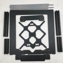 원래 prusa i3 mk3 3d 프린터 부품 알루미늄 프레임, 알루미늄 프로파일 및 부드러운 막대