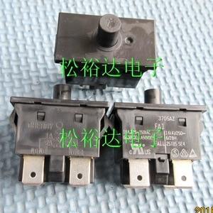 Original new 100% FA1 push button switch 4pin reset normally open normally closed 16A 250V 25T85 5E4 long life 3705AZ